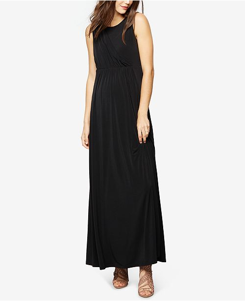 A Pea in the Pod Maternity Sleeveless Gown