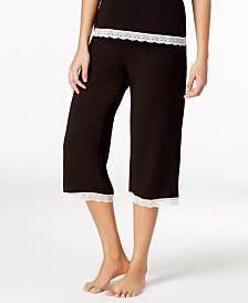Cosabella Majestic Lace-Trim Capri Pajama Pants MAJES5471