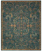 Nourison 2020 NR204 Teal Area Rugs