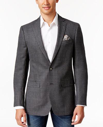 Tallia Men's Big & Tall Classic-Fit Gray Neat Sport Coat