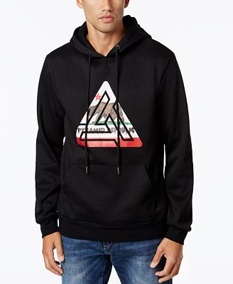 Black Pyramid Men's Graphic-Print Hoodie