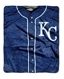 Northwest Company Kansas City Royals 50x60in Plush Throw Jersey