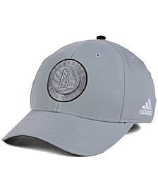 adidas Brooklyn Nets Gray Color Pop Flex Cap