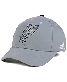 adidas San Antonio Spurs Gray Color Pop Flex Cap