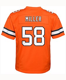 Von Miller Denver Broncos Color Rush Jersey, Big Boys (8-20)