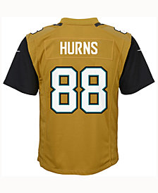 Nike Allen Hurns Jacksonville Jaguars Color Rush Jersey, Big Boys (8-20)