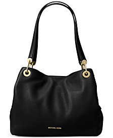 Michael Kors Raven Pebble Leather Tote