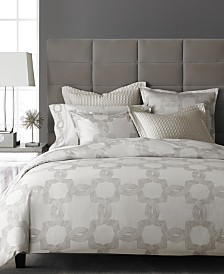 CLOSEOUT! Hotel Collection European Linens Ironwork Bedding Collection, Created for Macy's