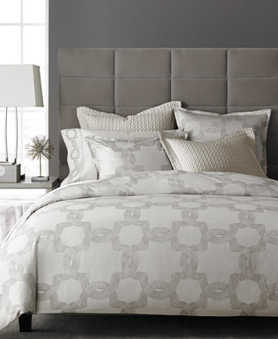 CLOSEOUT! Hotel Collection Ironwork Full/Queen Duvet Cover, Created for Macy's