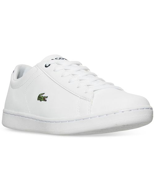 a5210e4d02 Lacoste Big Boys' Carnaby EVO Casual Sneakers from Finish Line ...