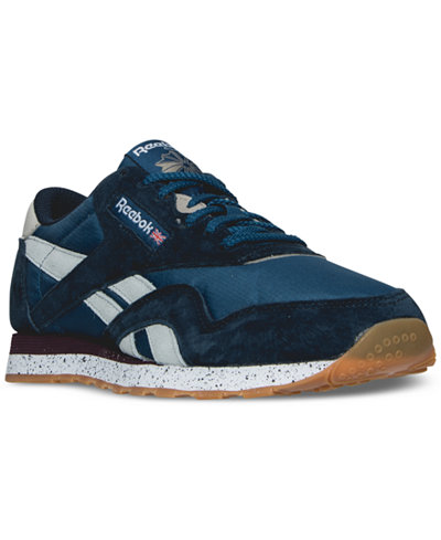 Reebok Men's Classic Nylon OE Casual Sneakers from Finish Line