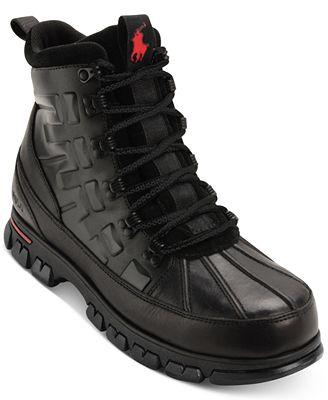 Polo Ralph Lauren Men\'s Delton Boots - All Men\'s Shoes - Men - Macy\'s