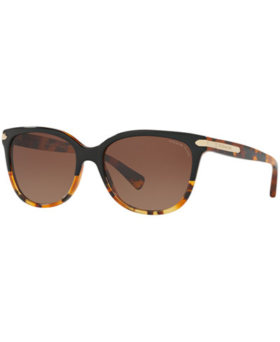 Coach Polarized Sunglasses, HC8132