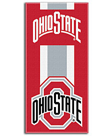 Northwest Company Ohio State Buckeyes College Zone Read Beach Towel