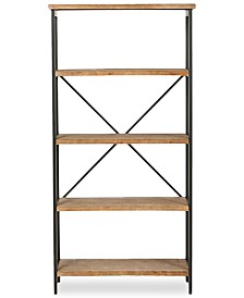 Jerome 5-Shelf Industrial Bookcase, Quick Ship