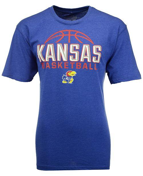 Colosseum Men's Kansas Jayhawks Basketball Dome T-Shirt