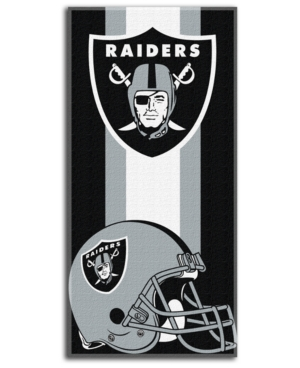 Northwest Company Oakland Raiders Zone Read Beach Towel