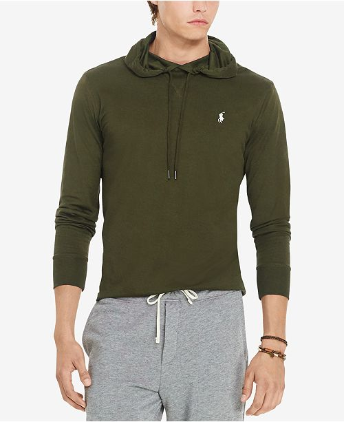 fbfb1ded9 Polo Ralph Lauren Men s Featherweight Pima Hoodie   Reviews - Casual ...