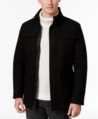 Calvin klein wool coat mens
