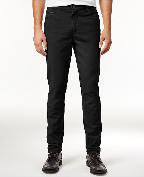 American Rag Men's Slim Fit Twill Pants, Created for Macy's