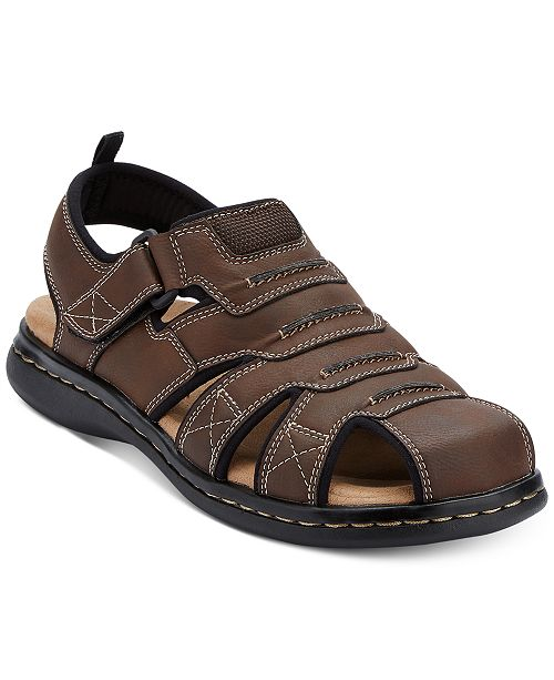 c90d16cb6 Dockers Men s Searose Closed-Toe Fisherman Sandals   Reviews - All ...