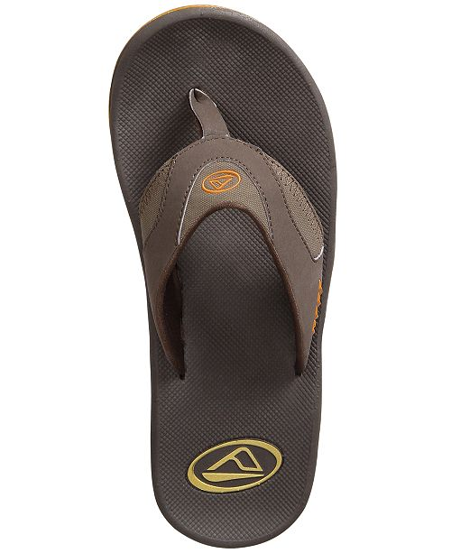 4cf73c1d100 REEF Men s Fanning Thong Sandals with Bottle Opener   Reviews - All ...