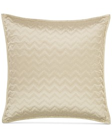 CLOSEOUT! Distressed Chevron Quilted European Sham, Created for Macy's
