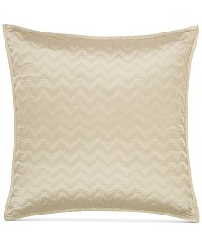 CLOSEOUT! Hotel Collection Distressed Chevron Quilted European Sham, Created for Macy's