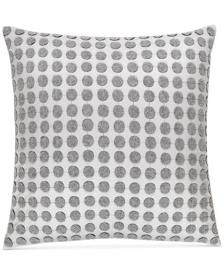 """CLOSEOUT!  Colonnade Dusk 18"""" Square Decorative Pillow, Created for Macy's"""