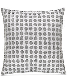 "CLOSEOUT! Hotel Collection  Colonnade Dusk 18"" Square Decorative Pillow, Created for Macy's"