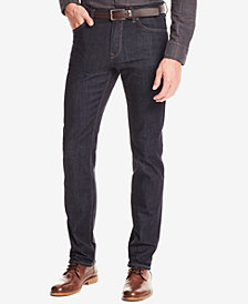 BOSS Men's Regular/Classic-Fit Dark Wash Jeans