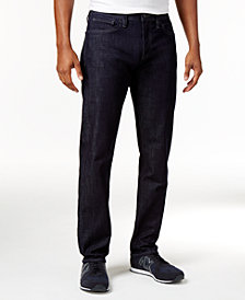 A|X Armani Exchange Men's Five-Pocket Straight-Fit Stretch Jeans