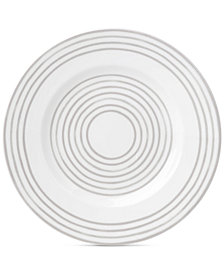 kate spade new york Charlotte Street West Grey Collection Accent Plate