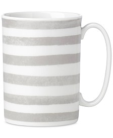 kate spade new york Charlotte Street North Grey Collection Mug