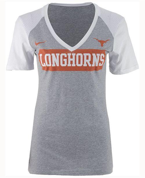 Nike Women s Texas Longhorns Tailgate Football T-Shirt - Sports Fan ... 34e8ef3ef