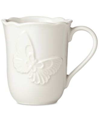 Butterfly Meadow Carved Collection Mug