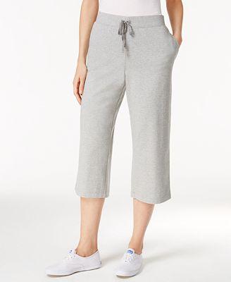 Karen Scott Pull-On Knit Capri Pants, Only at Macy's - Pants ...