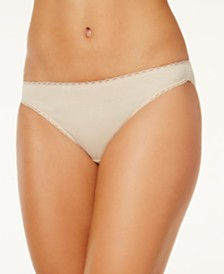 Charter Club Pretty Cotton Bikini Underwear, Created for Macy's