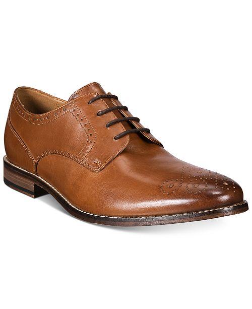 Bostonian Ensboro Plain Lace Up Shoes - Men's Size 8W Brown