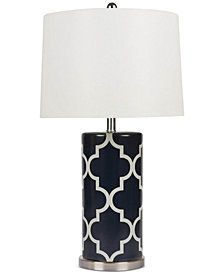 Abbyson Living Harper Lattice Table Lamp
