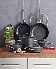 Contemporary Nonstick 11-Pc. Cookware Set