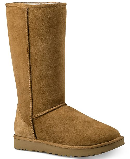 b5f220652dd Women's Classic II Genuine Shearling Lined Tall Boot