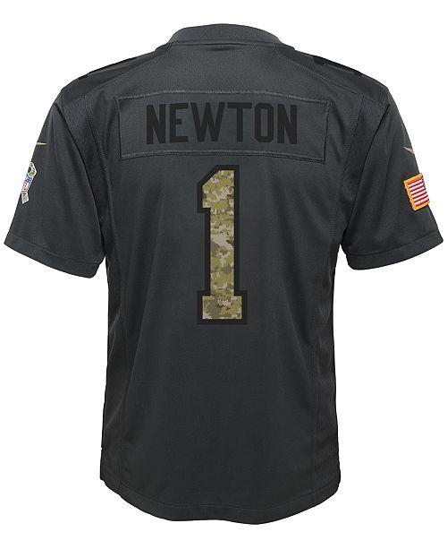 size 40 b1d70 5d5d6 Nike Cam Newton Carolina Panthers Salute to Service Jersey ...