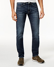 Men's Five-Pocket Straight-Fit Stretch Jeans