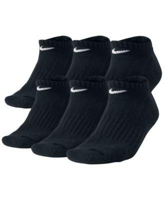Men's Cotton No-Show Socks 6-Pack