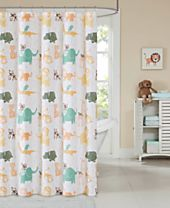 Ink+Ivy Kids Jacala Printed Cotton Shower Curtain