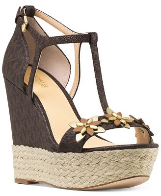 MICHAEL Michael Kors Heidi Wedge Sandals