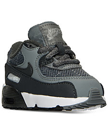 Nike Toddler Boys' Air Max 90 SE Leather Running Sneakers from Finish Line