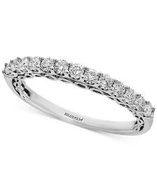 EFFY® Infinite Love Diamond Anniversary Band (3/8 ct. t.w.) in 18k White Gold
