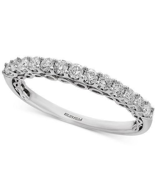 EFFY Collection EFFY® Infinite Love Diamond Anniversary Band (3/8 ct. t.w.) in 18k White Gold